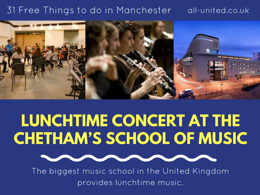 Lunchtime Concert at the Chetham's School of Music