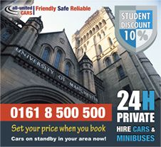 hire taxi manchester